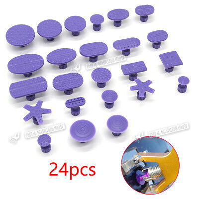 24pcs PDR Lifter Puller Glue Tabs For Cars Refrigerator Dent Removal Body Repair