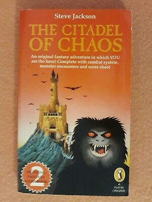Red Star Edition 1984 Fighting Fantasy #2, The Citadel of Chaos, Steve Jackson