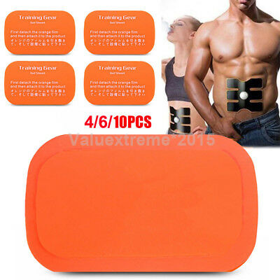 EMS Replacement Gel Sheet Pad for Muscle Training Gear ABS Body Fit Fitness Gym