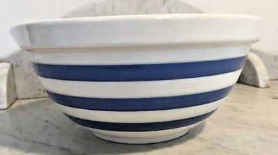 Vintage Staffordshire Chef Ware Large Mixing Bowl like TG Green Cornishware