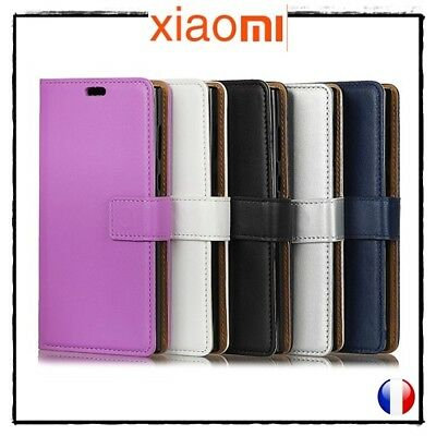 Etui porte-carte coque housse Cuir PU Leather Cover case XIAOMI Redmi 5X / A1