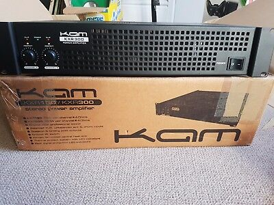 KAM-KXR-300 Power Amp - Excellent, boxed condition. 300 Watt rackable amp.