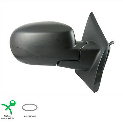 Rear View Mirror Passenger Lhd Manual Finish Renault Twingo 2 Phase 2 2010-2014