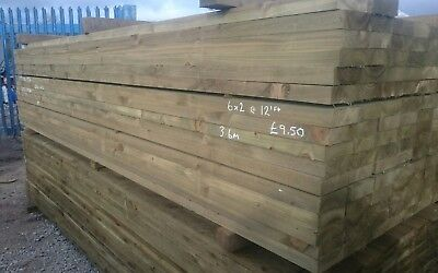 Treated 6x2 timber picclick uk for Tanalised timber decking