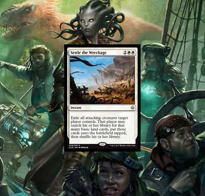 Magic the Gathering Settle the Wreckage Ixalan