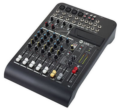 L-Pad 8Cx 8 Channel Mixing Console With Effects - Includes Bluetooth Module.