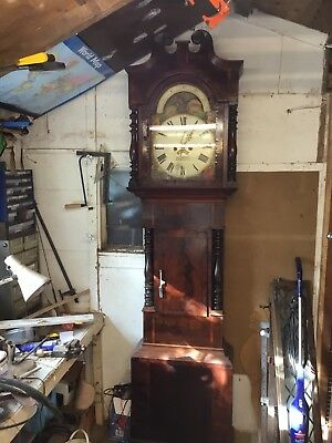 Moon Phase Grandfather Clock