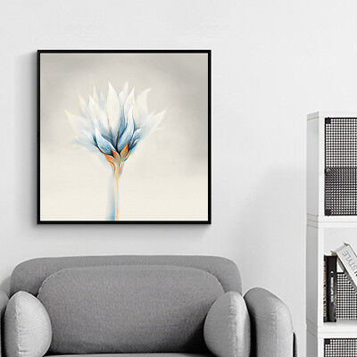 New Arrival! Large Abstract Modern Wall Art With Black frame. Special Offer