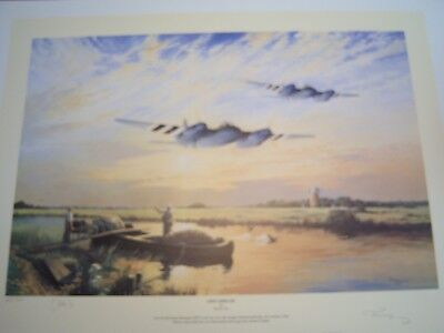 WW2 RAF DH MosquitoLimited Ed Print - Signed by Trevor Lay Artist