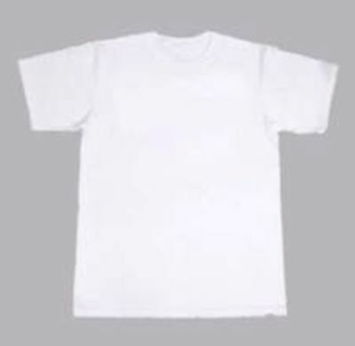 Job lot kids white cotton T shirts x 75 5-6years