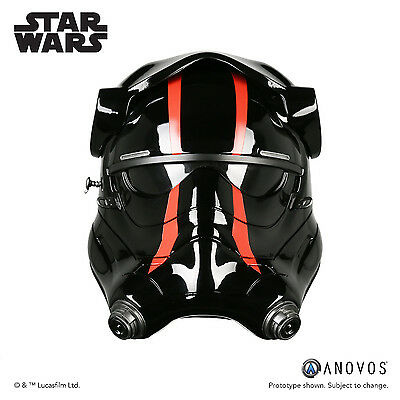 Star Wars First Order Special Forces TIE Fighter Pilot Helmet 1:1 Scale Anovos