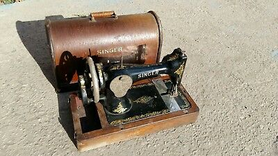singer vintage sewing machine retro antique old table type cast iron shabby chic