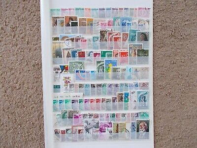 European Stamps Used Over 100 Different Off Paper Lot 2