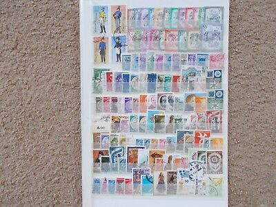European Stamps Used Over 100 Different Off Paper Lot 4