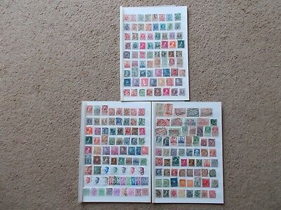 Belgium Stamps Used Off Paper Job Lot