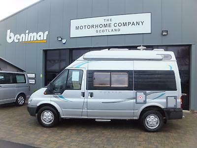 Ford Autosleeper Duetto Campervan For Sale Two Berth