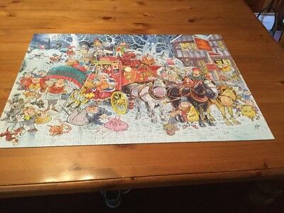 Jumbo 'Christmas Spirits' Limited Edition 1000 Pieces Jigsaw Puzzle