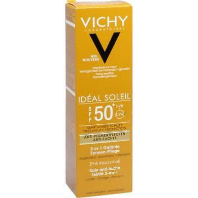 VICHY IDEAL Soleil Anti-Pigmentflecken Cr.LSF 50+ 50 ml L'OREAL DEUTSCHLAND GMBH