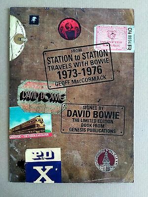 DAVID BOWIE Station to Station GENESIS PUBLICATIONS Brochure/A2 POSTER RARE
