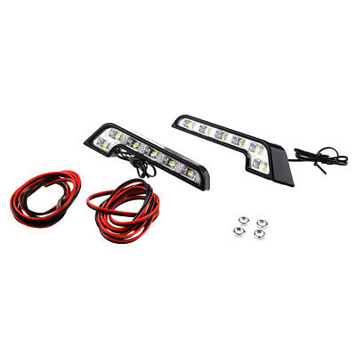 for car L - type LED daylight / fog lights six consecutive left and right P Y0D1