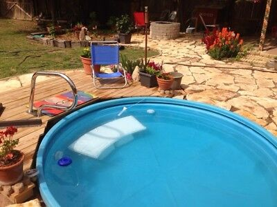 8 Foot Poly Stock tank/ Stock tank pool Made by Behlen