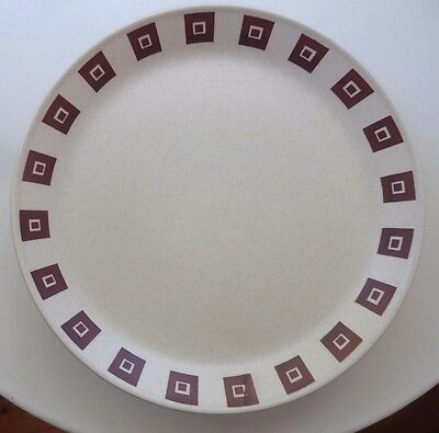 Vintage Johnson of Australia Replacement Side Plate *Brown Squares