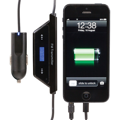 Iphone5 Fm Transmitter Cig Charger