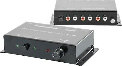 Riaa Phono Preamp With Aux Preamp With Aux Input