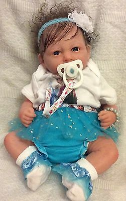 Reborn Berenguer Baby Doll Rooted Hair Frozen Inspired  Bargain