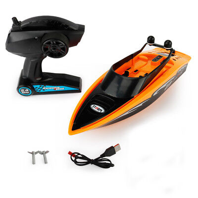 2.4G Kids Children Water Toy 4CH Waterproof ElectricRC RacingSpeedboat Boat 66