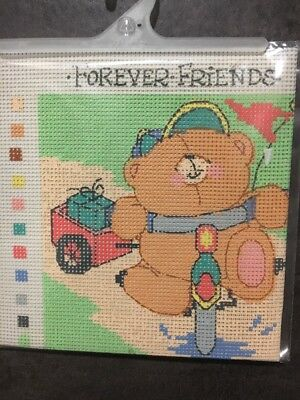 Forever Friends Tapestry/Embroidery Kit - Cycling