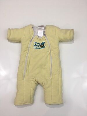 Merlins Magic Sleepsuit Yellow Size Small 3-6 Month