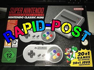 Super Nintendo Mini Classic Snes Mini Console System Bnib Uk Rapid Postage