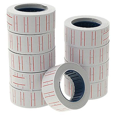 10pcs Self Adhesive Labels Roll Retail Store Price Stickers 21mmx12mm U3C5 I0Y7