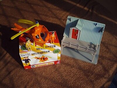 Fireman Sam - Rescue Helicopter & Station