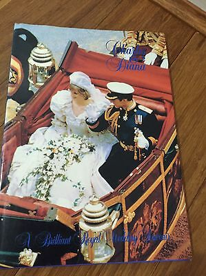 Charles And Diana Wedding Souvenir
