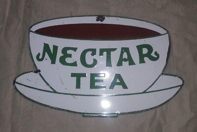 """NECTAR TEA Sign SIZE 21.5"""" X 14""""  INCHES"""