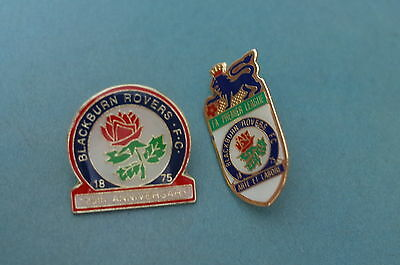 2 Blackburn rovers Football Badges
