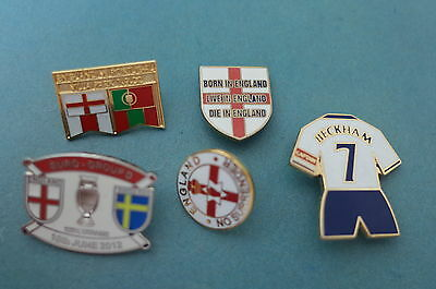 England Football Badges joblot