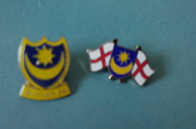 2 Portsmouth  Football Badges