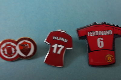 3  Manchester United Football Badges