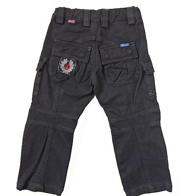 Belstaff Boys Jeans Trousers Age 4 Years Black Motorcycle Pants
