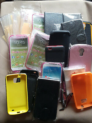 Job Lot of Mobile Phone Cases Screen Protectors Stylus