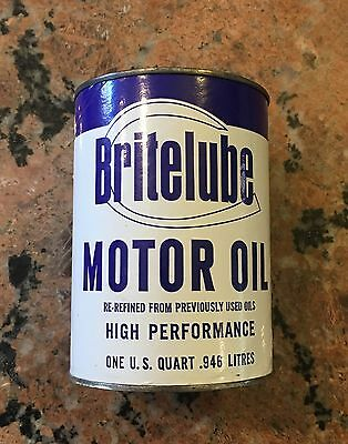 BriteLube Motor Oil Bank Quart