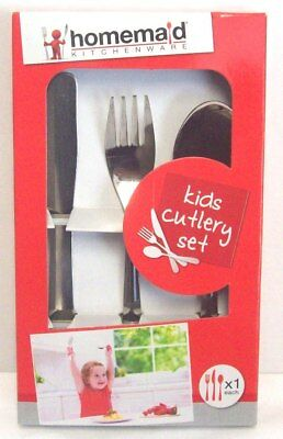 First Cutlery Set by Grunwerg Windsor Stainless Steel Childrens//Toddlers//Kids