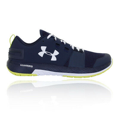 Under Armour Mens Commit TR Training Shoes Trainers Footwear Sports Running Blue