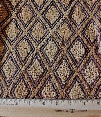 "Antique African (Congo) Tribal Kuba Cloth Fabric~Handwoven Ethnic Design~16""Sq"