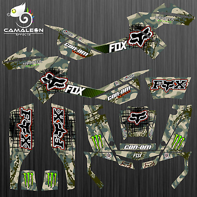 Can-Am Outlander XMR Graphic Kit 500/800 AMR Decal ATV Sticker
