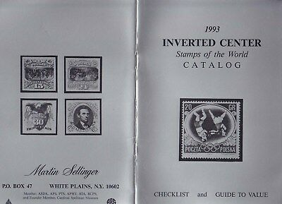 The 1993 INVERTED CENTER Stamps of the World CATALOG.