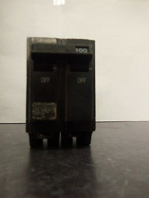 Nice Ge General Electric Thql21100 Circuit Breaker 2 Pole 100 Amp 240 Vac